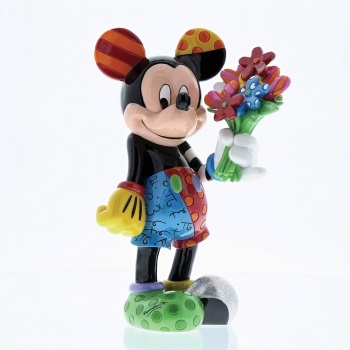 """Mickey Mouse with Flowers"" Disney by Romero Britto 4058180"
