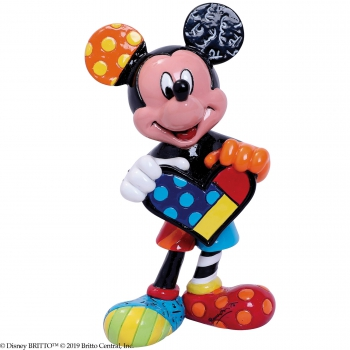 """Mickey Mouse with heart MINI"" Disney by Romero Britto 6006085"