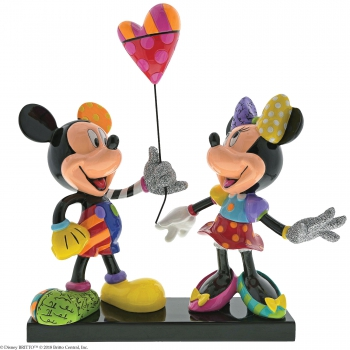 """Mickey & Minnie Mouse"" limitiert, Disney by Romero Britto 6001301"