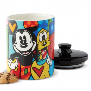 """Mickey & Pluto"" Keksdose, Disney by Romero Britto 6004977"